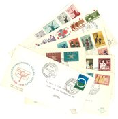 Holland year 1963 - FDC