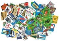 Etiquettes de boîtes d'allumettes - 150 différentes
