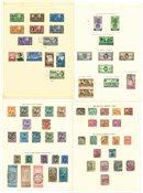Egypti - Kokoelma 1888-1950 albumissa