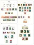 Espanja - Kokoelma 1863-1971 Kabe-albumissa