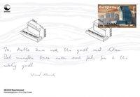 Norvège - Nouveau Musée Munch 2020 - Enveloppe premier jour