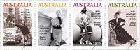 Australien - Modefotograf - Postfrisk sæt 4v