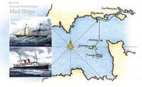 Jersey - Eurooppa-julkaisu 2020, muinaiset postireitit - Postituore pienoisarkki