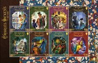 Jersey - Charles Dickens - Mint souvenir sheet