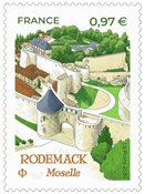 France - Rodemack Moselle - Timbre neuf