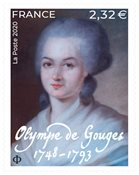 France - Olympe de Gouges - Timbre neuf
