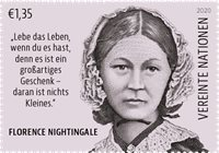 Nations Unies - Florence Nightingale - Timbre neuf