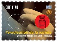 FN Geneve - Mæslinger - Postfrisk frimærke