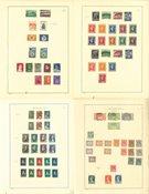Países Bajos y Colonias - Colección 1906-1960 en álbum