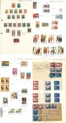 Various countries - Thematic collection 'Costumes'  in home-made album