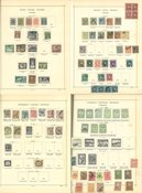 Europe - Collection in old Schaubek album