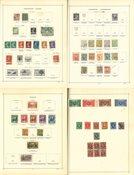 Europe - Collection in Schaubek album