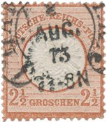 German Empire 1872 - MICHEL 21 - Cancelled