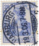 Tyskland - Tyske Rige 1902 - MICHEL 72b - Stemplet
