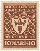 Tyskland - Tyske Rige 1922 - MICHEL 203b - Postfrisk