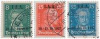 Empire Allemand - 1927 - Michel 407/409, oblitéré
