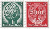 Empire Allemand 1934 - Michel 544/545 - Neuf