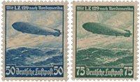 Empire Allemand - 1936 - Michel 606/607, neuf avec  charnière (avec ou sans gomme)