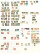 Diverse lande - Portomærker i album