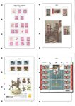 Belgique - Collection 2003-2005, taxe et timbres service