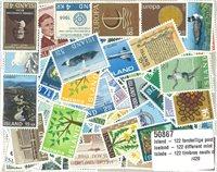 Island - 122 forskellige postfriske frimærker