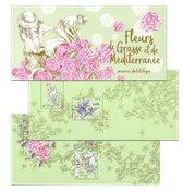 Frankrig - Blomster - Postfrisk miniark i folder