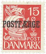 Danmark - Postfærgemærke - AFA PF 16b - Postfrisk
