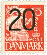Danmark 1940 - AFA 264a  - Postfrisk