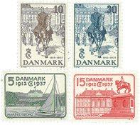Danmark 1937 - AFA 239-242 - Postfrisk
