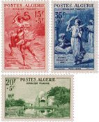 Algérie - Série neuve Y&T nos 346-48