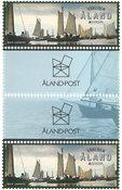 Åland - Europa 2020 Gamle postruter - Gutterpair postfrisk