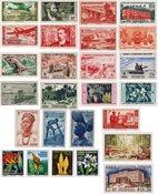 Afrique Occidentale et Equatoriale - 25 timbres neufs différents
