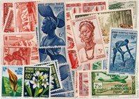Afrique Occidentale et Equatoriale - Lot de doublons neufs