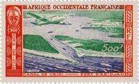 Vestafrika - Postfrisk frimærke luftpost Y&T nr. 16