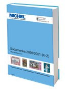 MICHEL - América del Sur 2020/2021 - Vol. II (K-Z)  - Catálogo de sellos