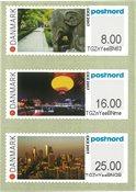 Danmark - Udstilling CICE 2017 Nanjing, Kina - Postfrisk sæt udstillingsmærker 3v
