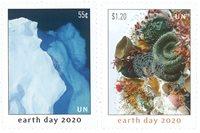 FN - Jordens dag - New York - Postfrisk sæt 2v
