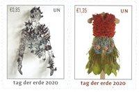 FN - Jordens dag - Wien - Postfrisk sæt 2v