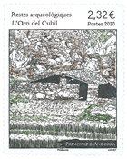 Fransk Andorra - Orri del Cubil - Postfrisk frimærke