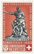Schweiz 1940 - Michel 368 - Postfrisk