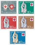Suisse 1957 - Michel 641/45 - Neuf