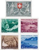 Suisse 1953 - Michel 580/84 - Neuf