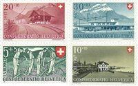 Suisse 1947 - Michel 480/83 - Neuf