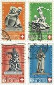 Schweiz 1940 - Michel 364/67 - Stemplet