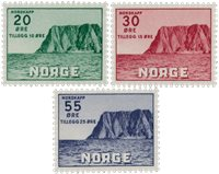 Norvège 1953 - AFA 394/96 - Neuf