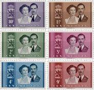 Luxembourg - 1953 - Michel 505/510, neuf