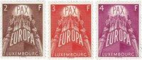 Luxemborg 1957 - Postfrisk - Michel 572-74