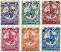 Luxembourg - Michel 259-64 - Neuf