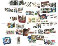 Grande-Bretagne - 75 cartes avec des timbres oblitérés de haute qualité