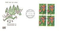 Finland 1979 - FDC - Firblok - LAPE nr. 836